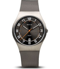 reloj bering 11937-007 hombre titanio gris