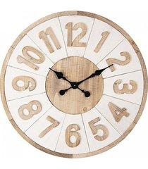 zegar okrągły ścienny natural 70 cm
