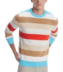 tommy hilfiger men's alumni stripe sweater