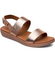 barra shoes summer shoes flat sandals guld fitflop