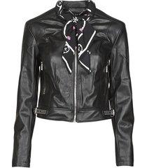 leren jas guess new jone jacket