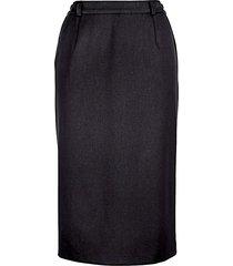 klassisk kjol m. collection svart