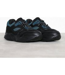 new look jerry chunky trainer v2 sneakers black