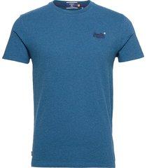 ol vintage emb tee t-shirts short-sleeved blå superdry