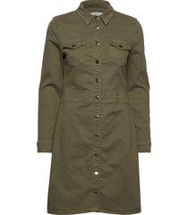 dresses woven kort klänning grön esprit casual