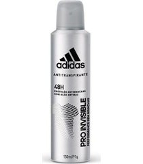 desodorante adidas invisible aerossol feminino 150ml
