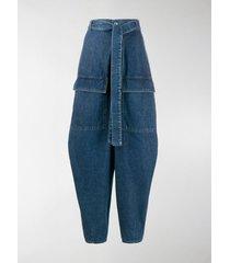 stella mccartney tie waist harem jeans
