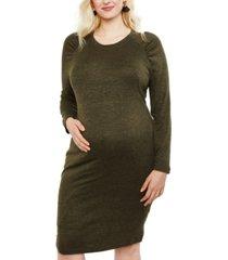 motherhood maternity plus size sheath dress