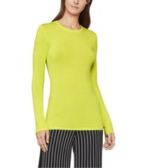 bcbgmaxazria knit crewneck top