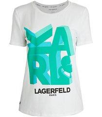 3d karl t-shirt