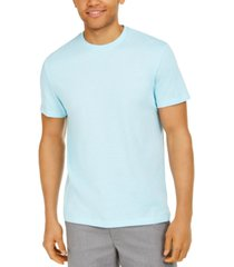 alfani men's end-on-end stripe t-shirt, created for macy's