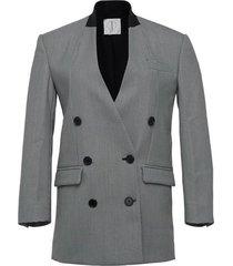 diana oversized check blazer