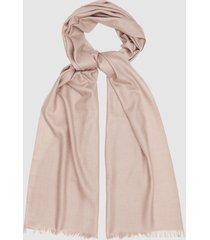 reiss iris - lightweight pashmina in light pink, womens