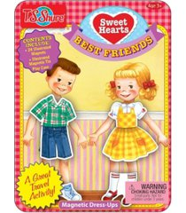 t.s. shure sweetheart dolls magnetic dress-ups mini tin