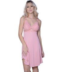camisola yasmin lingerie amamentação rosa - kanui