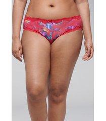 lane bryant women's strappy-back cheeky panty 26/28 paradise poppy