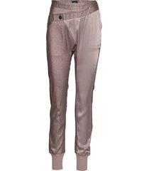 bahar cedar pants pantalon met rechte pijpen roze nü denmark