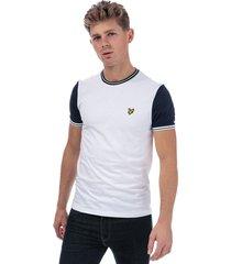 mens tipped t-shirt