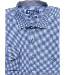 camisa dudalina manga longa tricoline estampa floral masculina (estampado, 6)