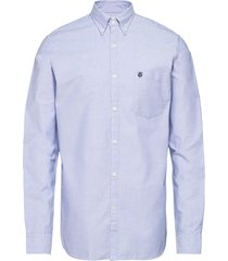 collect shirt ls r noos h skjorta business blå selected homme
