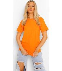 basic t-shirt, orange