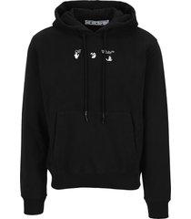 off white bolt arrow hoodie