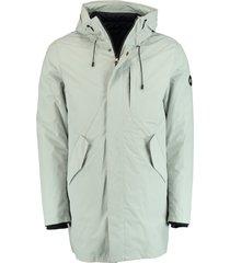 bos bright blue parka jacket inner jacket 20301ke17sb/112 silver