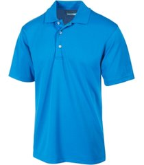 pga tour men's airflux solid golf polo shirt