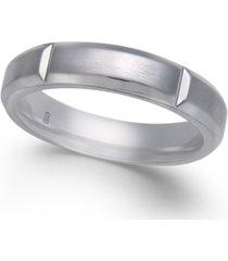 men's faceted cobalt ring