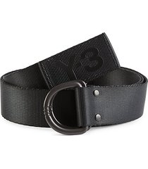 logo d-ring belt