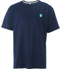 camiseta fatal basic azul-marinho
