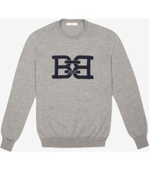 b-chain sweater grey 58