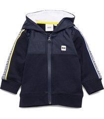 cardigan suit hoodie trui blauw boss