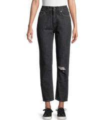 madewell women's the perfect vintage jeans - roxton wash - size 28 (4-6)