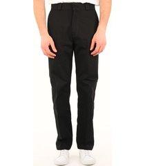 loewe black denim pants
