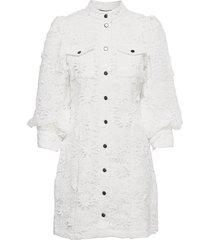fieldrush adrine dress kort klänning vit bruuns bazaar