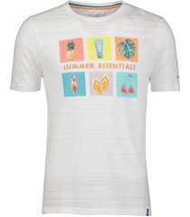 colours & sons t-shirt - modern fit - wit