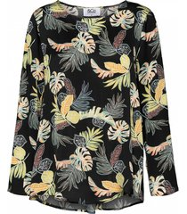 &co woman blouse binte zwart