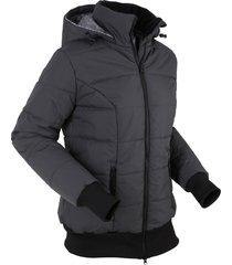 giacca trapuntata con fodera fantasia (grigio) - bpc bonprix collection