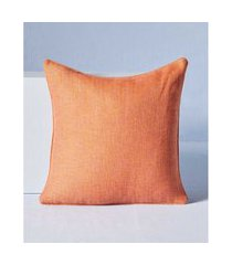 capa de almofada bissau cor: laranja - tamanho: único