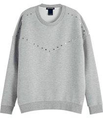 sweater studs grijs