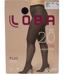meia calça feminina fio 20 clássica plus lupo 05795001