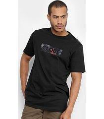 camiseta globe feather box masculina