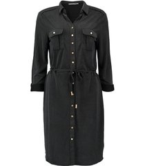 jurk knopen zwart
