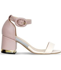 sandalias rosado bata xatalo r mujer