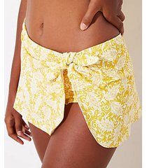 loft beach paisley side tie sarong