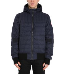 canada goose down jacket with zip