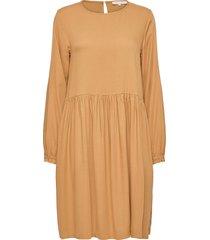 srgianna dress knälång klänning gul soft rebels