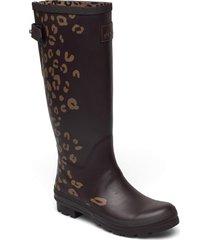 welly print regnstövlar skor brun joules