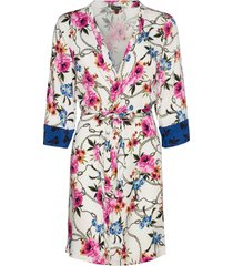 dressing gown morgonrock creme pj salvage